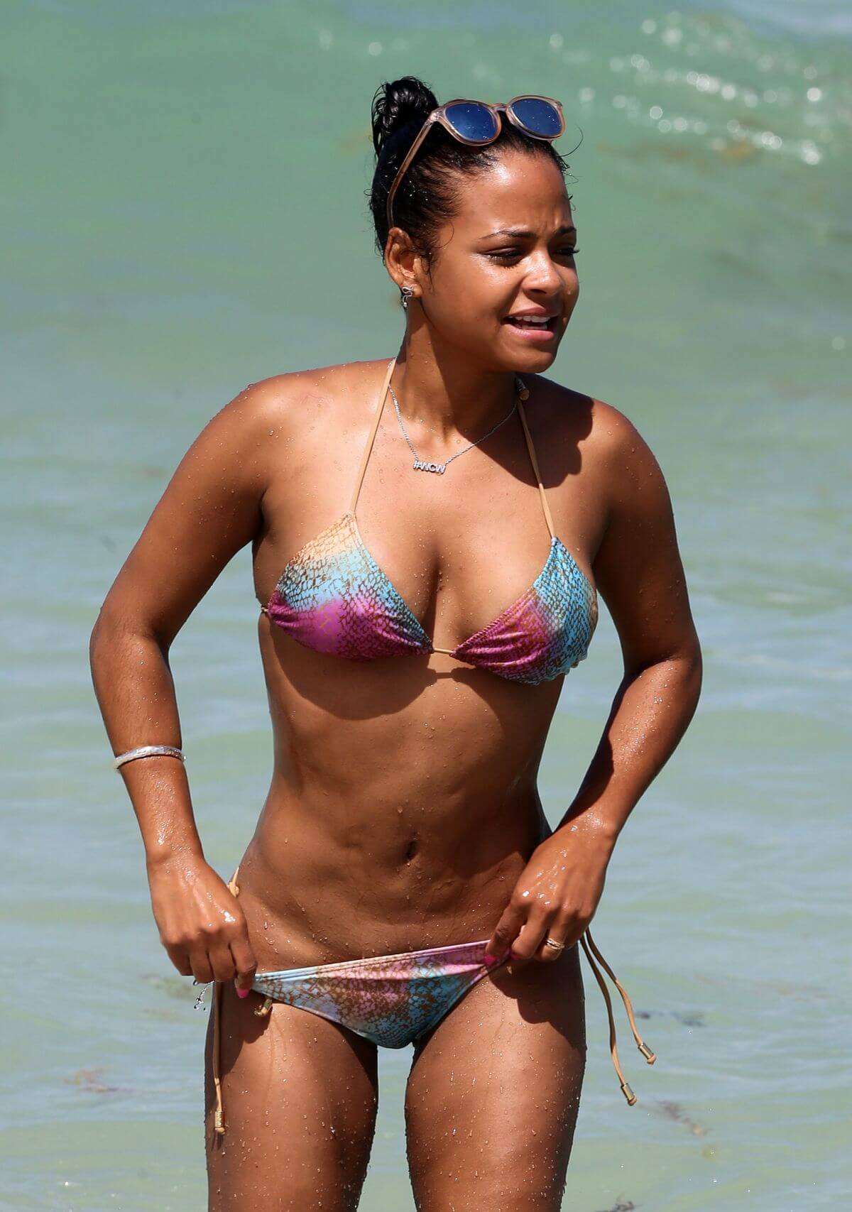 CHRISTINA MILIAN sexy bikini photo