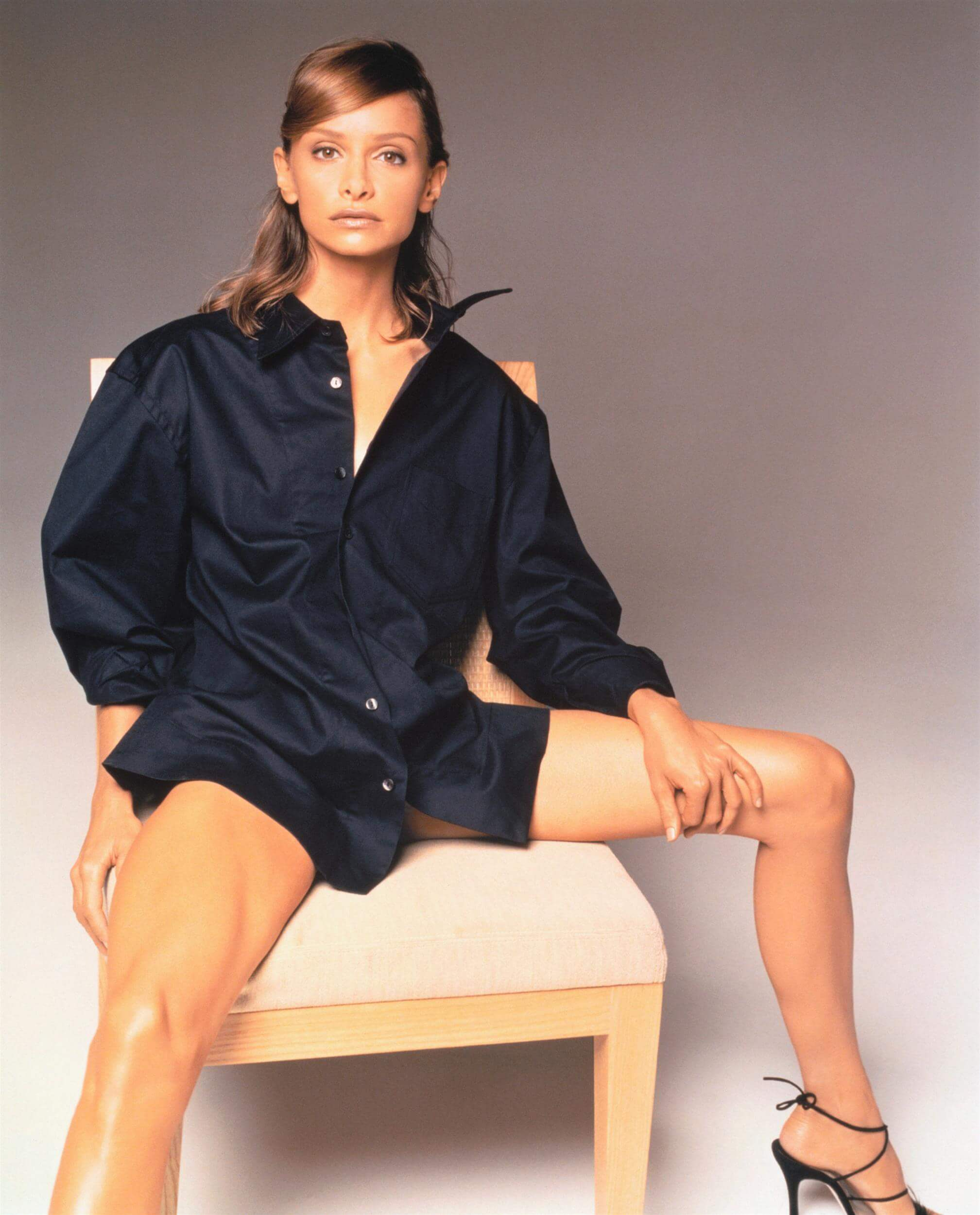 Calista Flockhart beautfiul legs