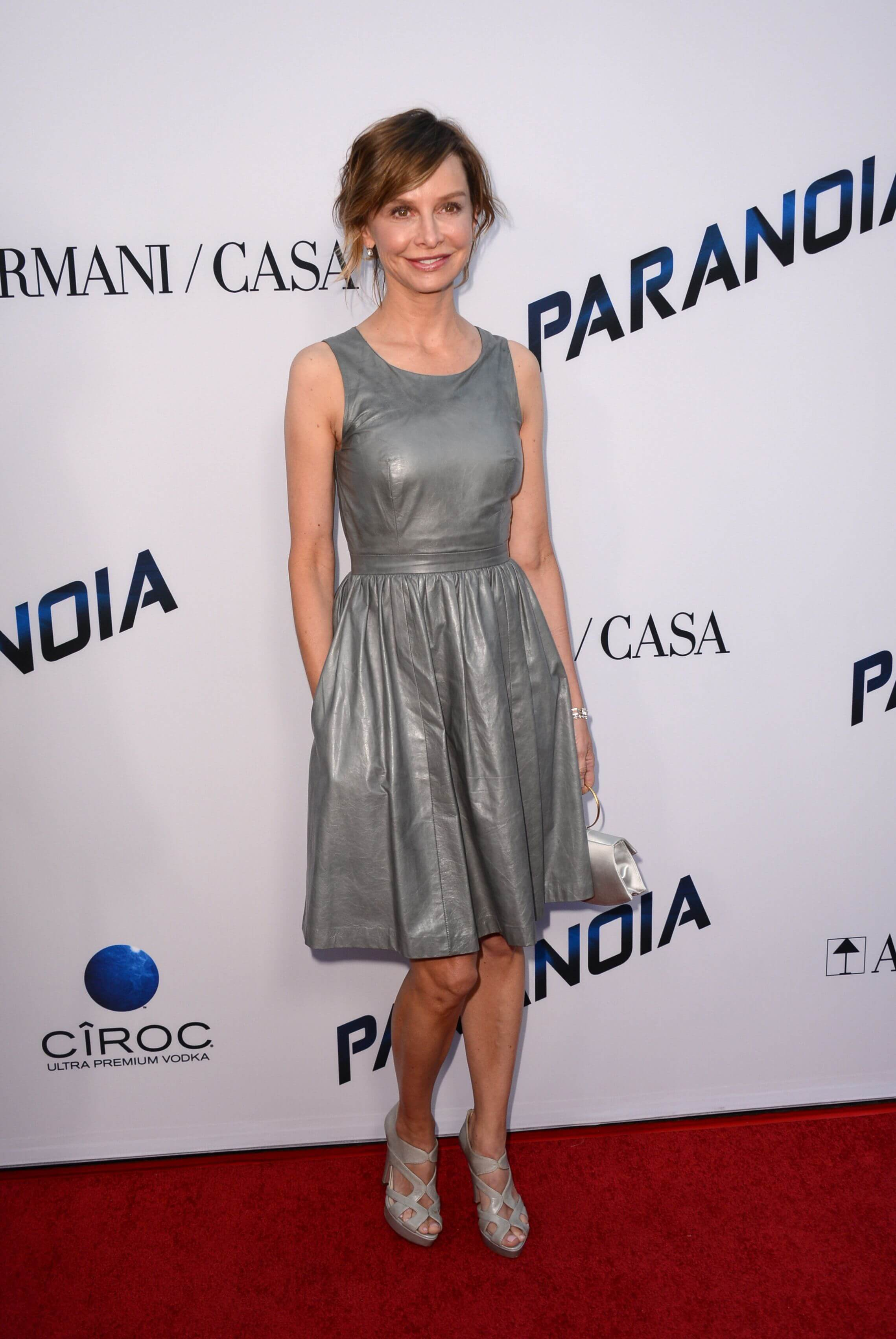 Calista Flockhart feet hot