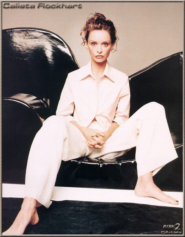 Calista Flockhart feet pictures
