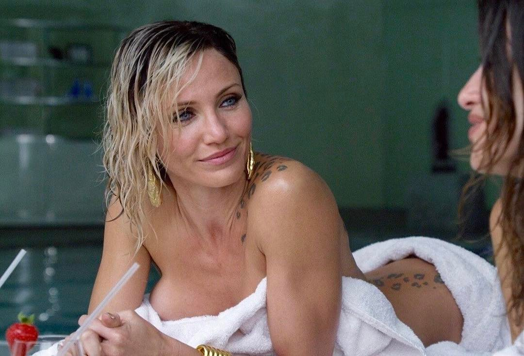 Cameron Diaz on Bed