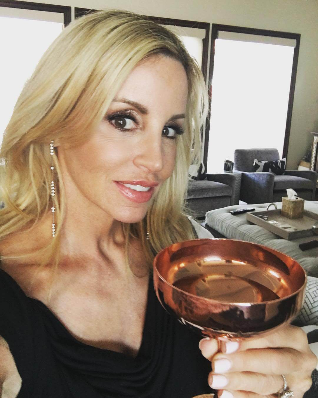 Camille Grammer cleavages pic