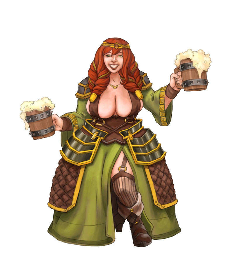 DWARF HOT BOOBS