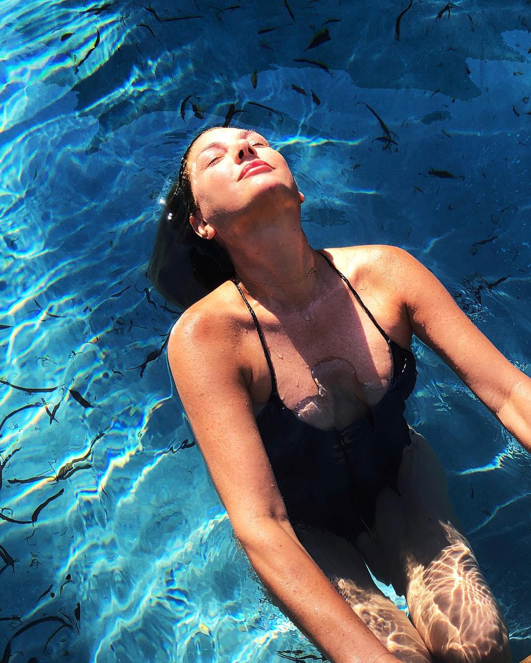 Daisy Fuentes on Swimming Pool