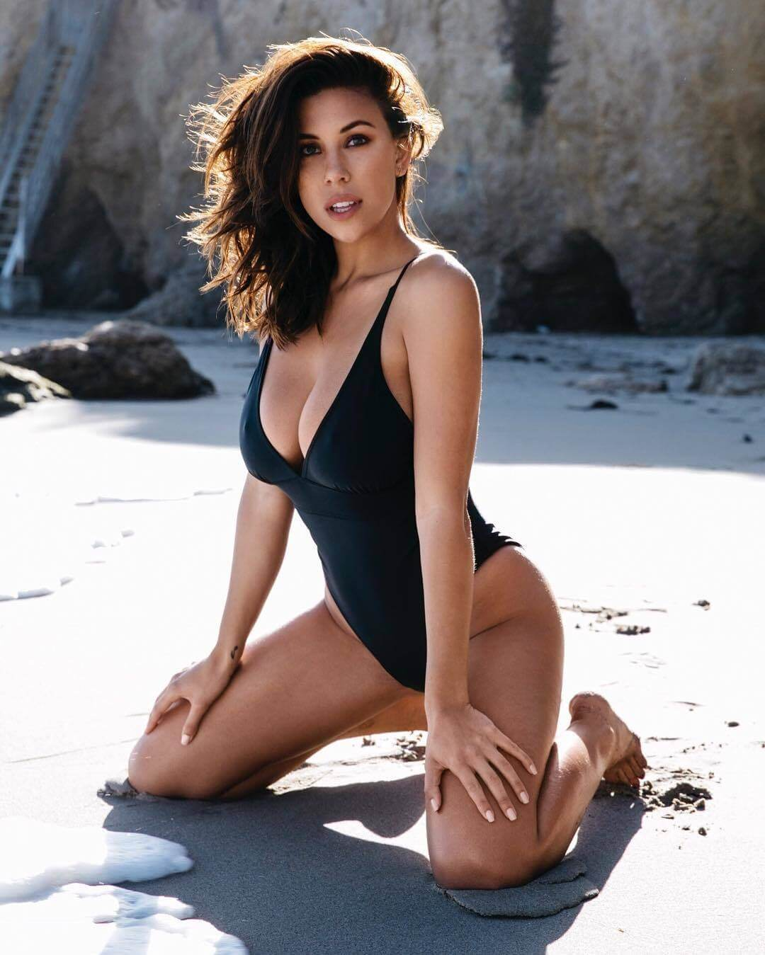 Devin-Brugman hot swimsuit sexy