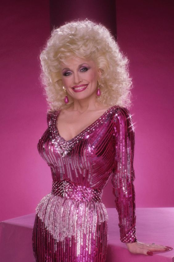 Dolly Parton Hot Dress