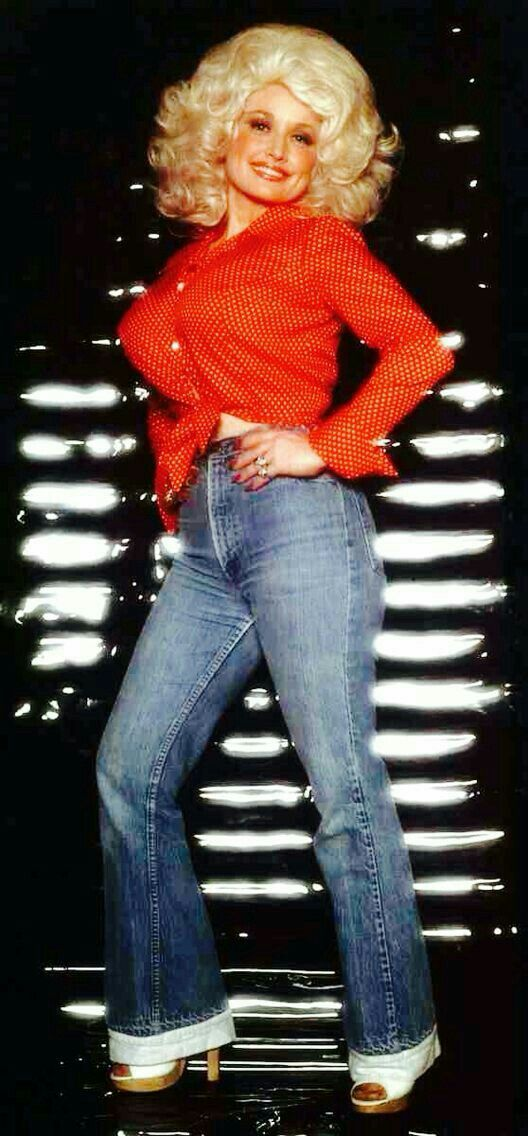 Dolly Parton Hot in Jeans
