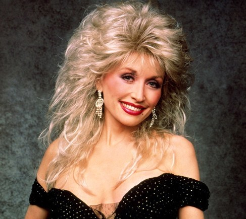 Dolly Parton Red Lips