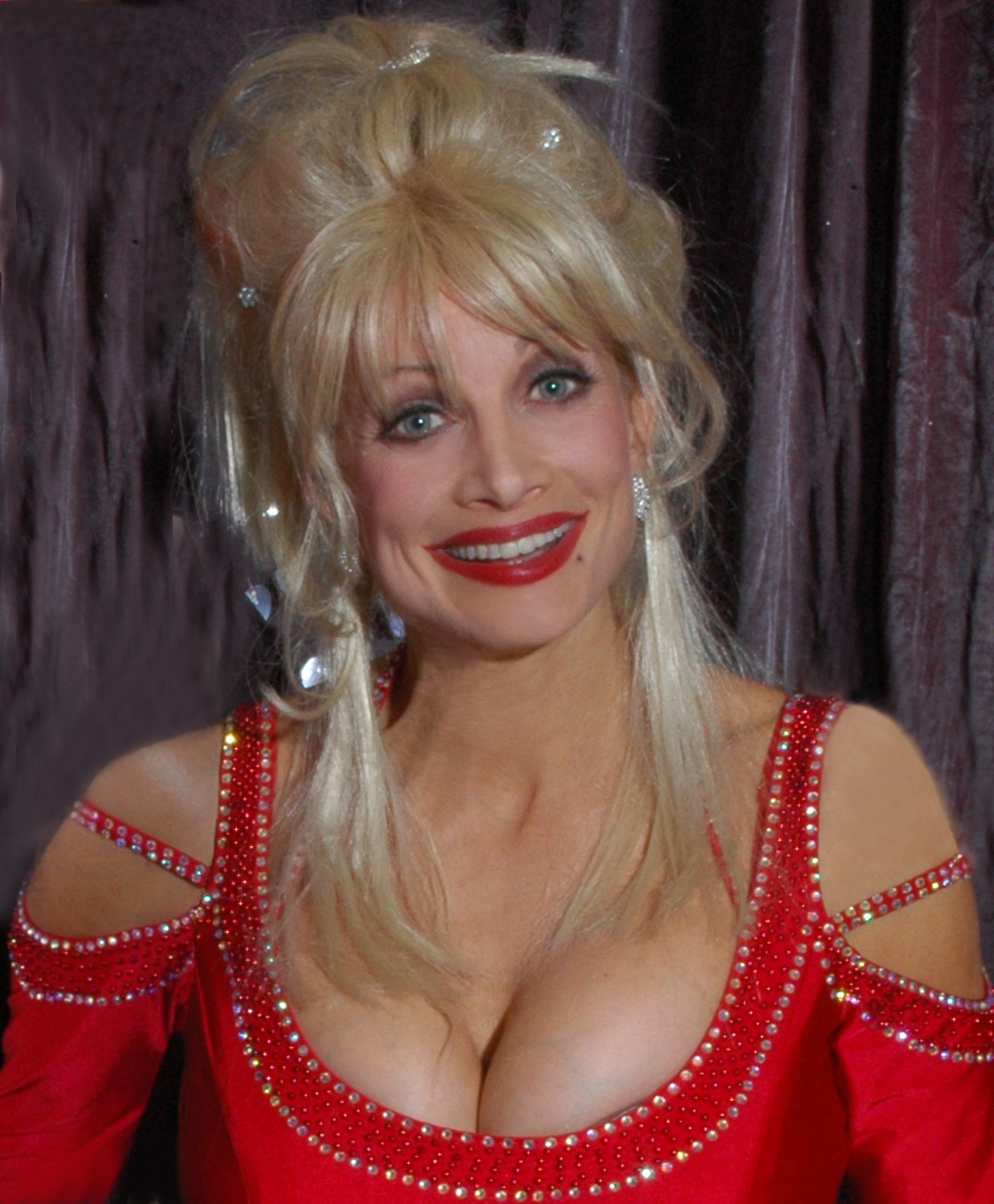 Dolly parton breast naked what that
