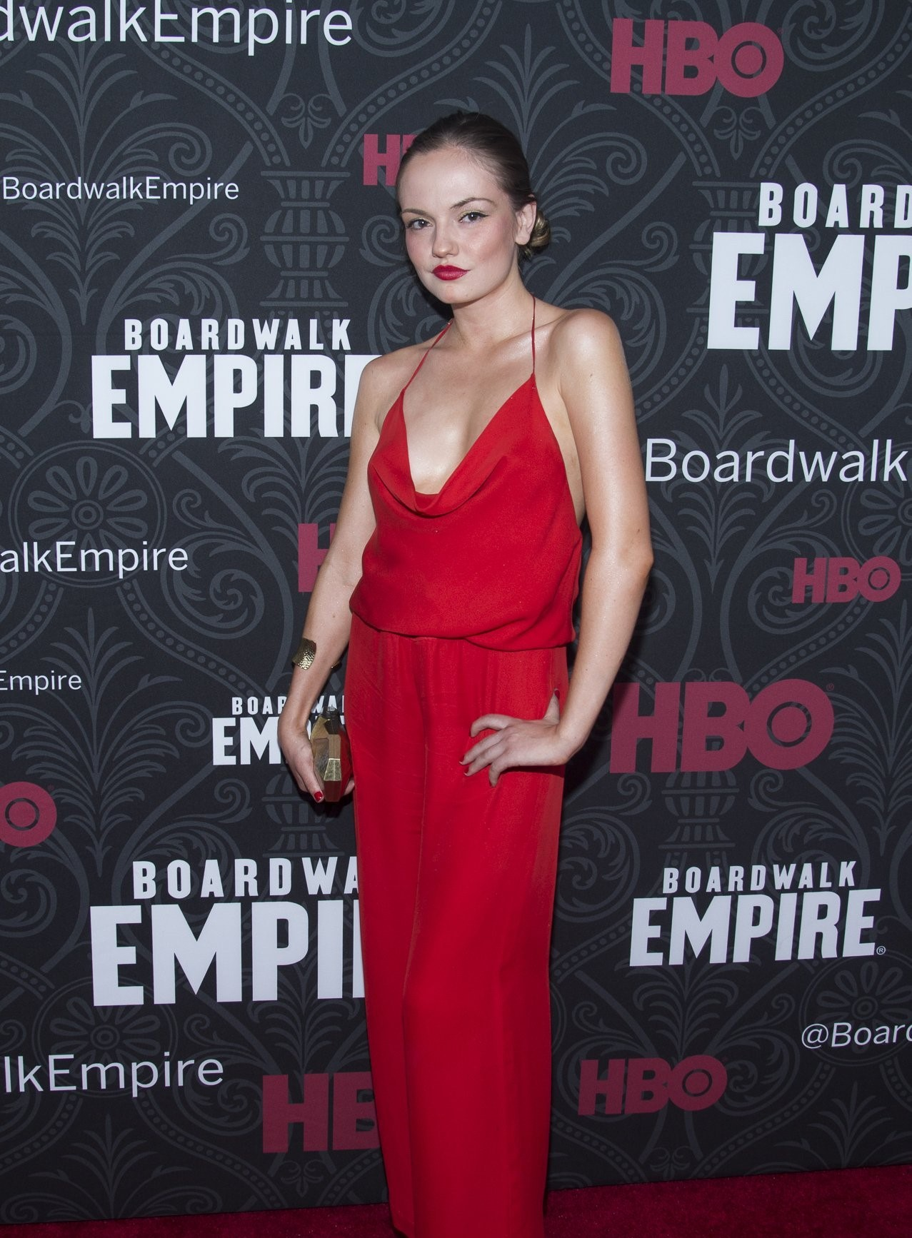 Emily Meade on HBO