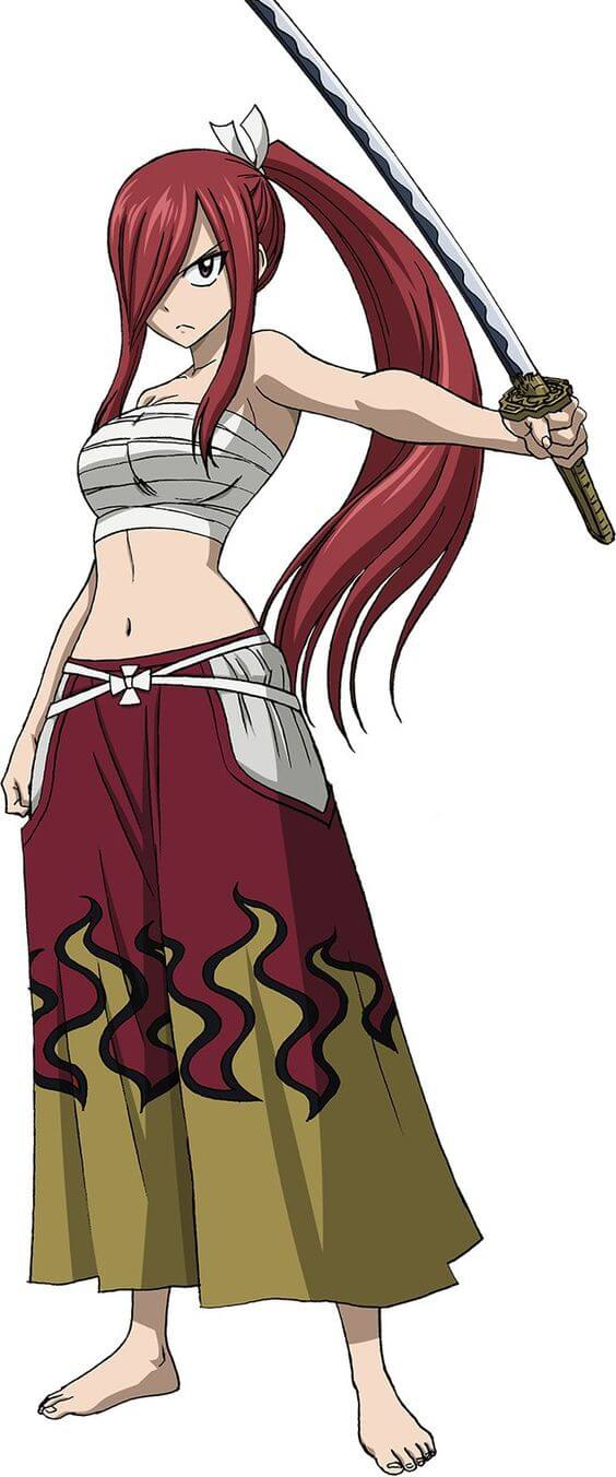 Erza Knightwalker hot cleavages pic