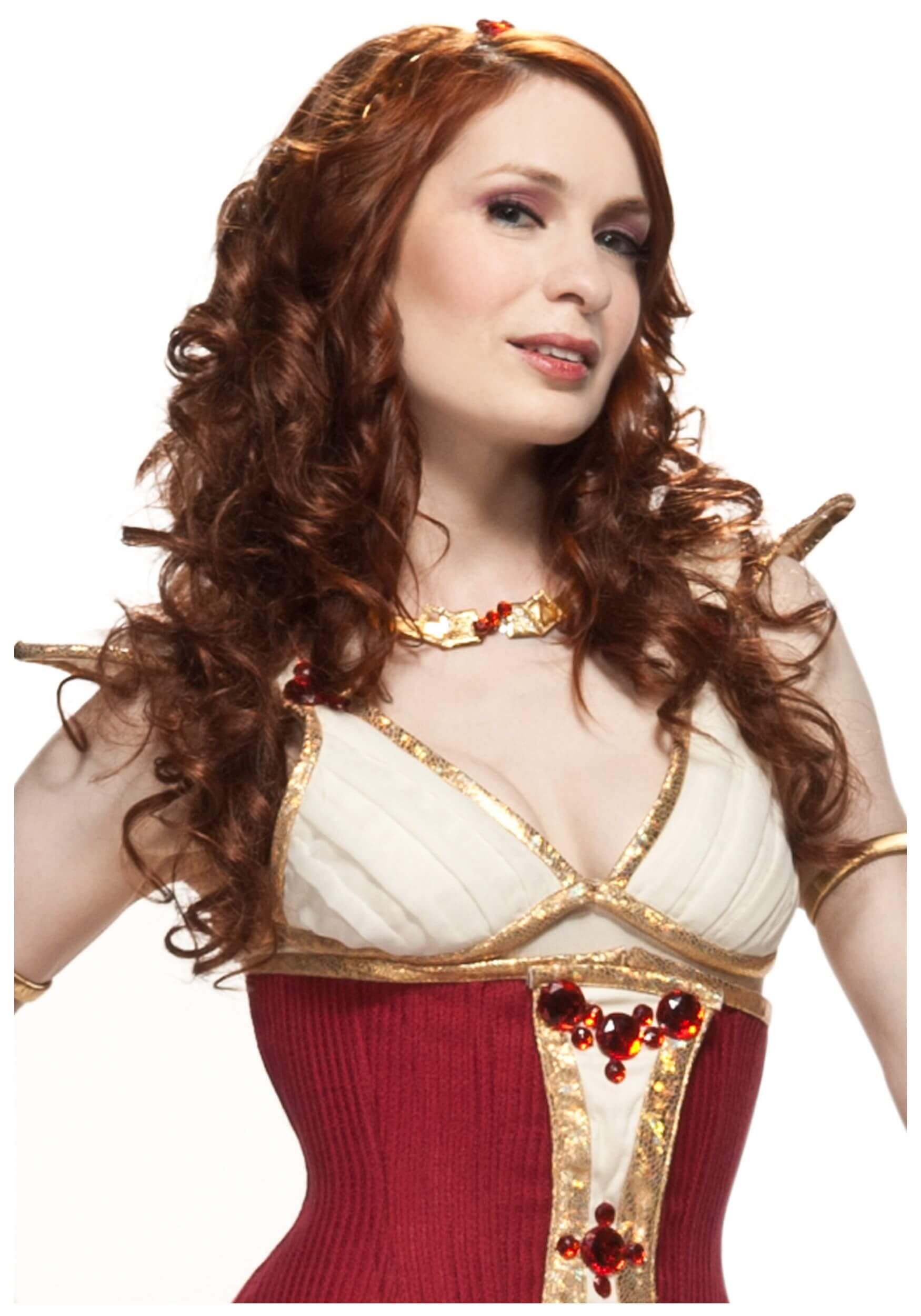 Felicia Day cleavage