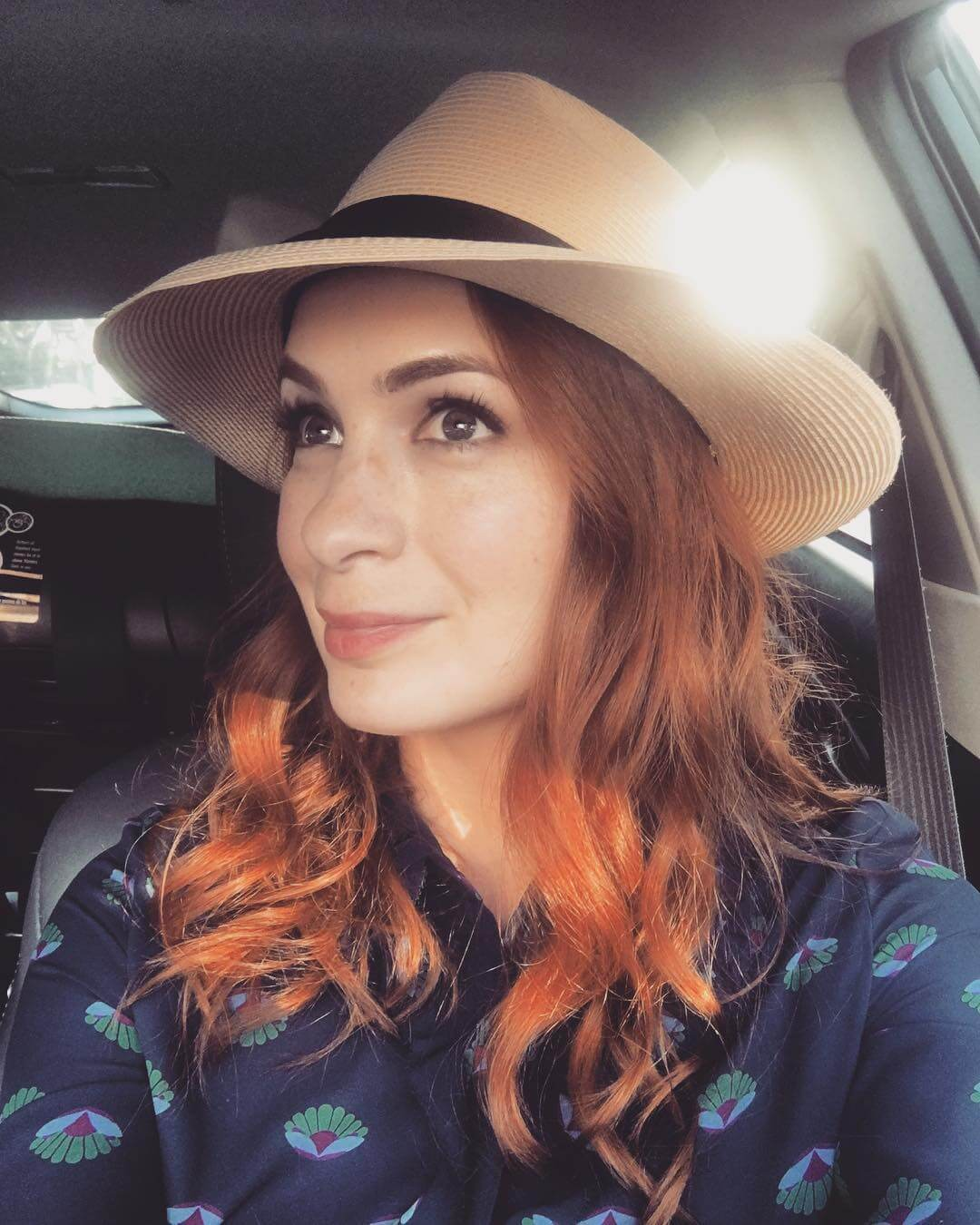 Felicia Day sexy hairs
