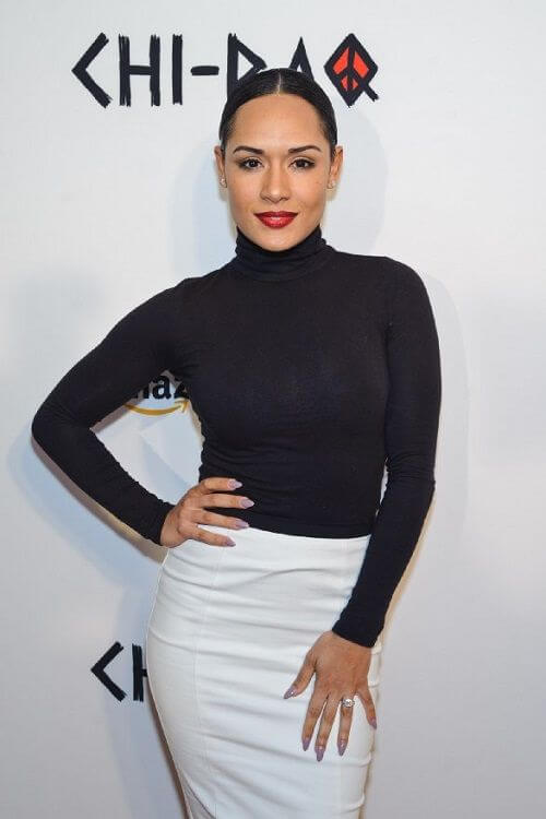 Grace Gealey awesome black dress