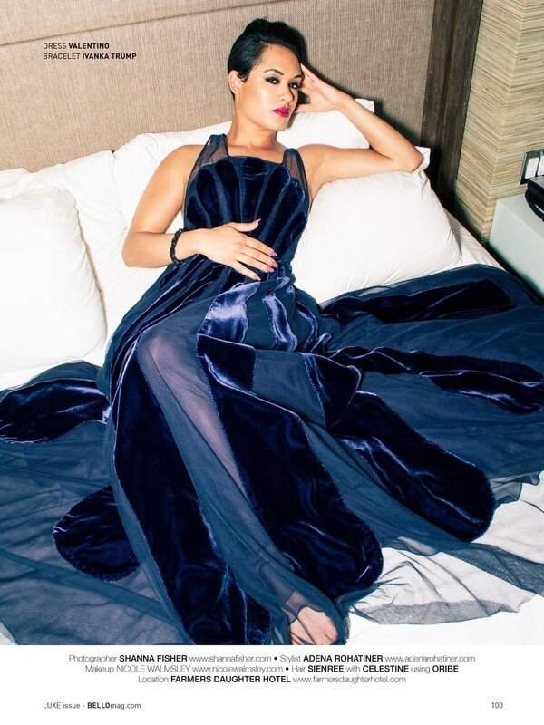 Grace Gealey awesome dress