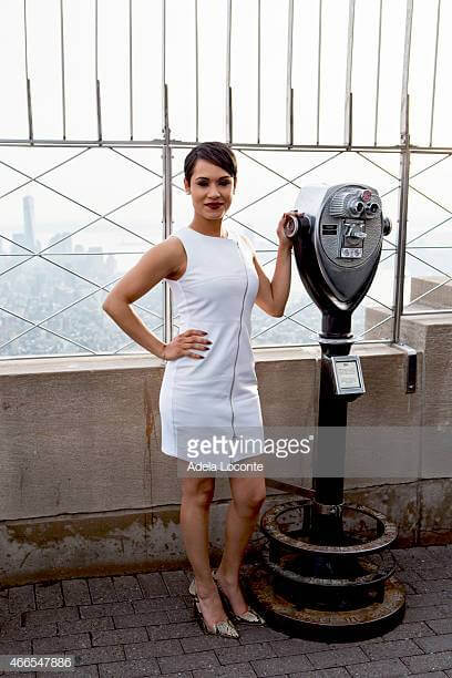 Grace Gealey hot white dress