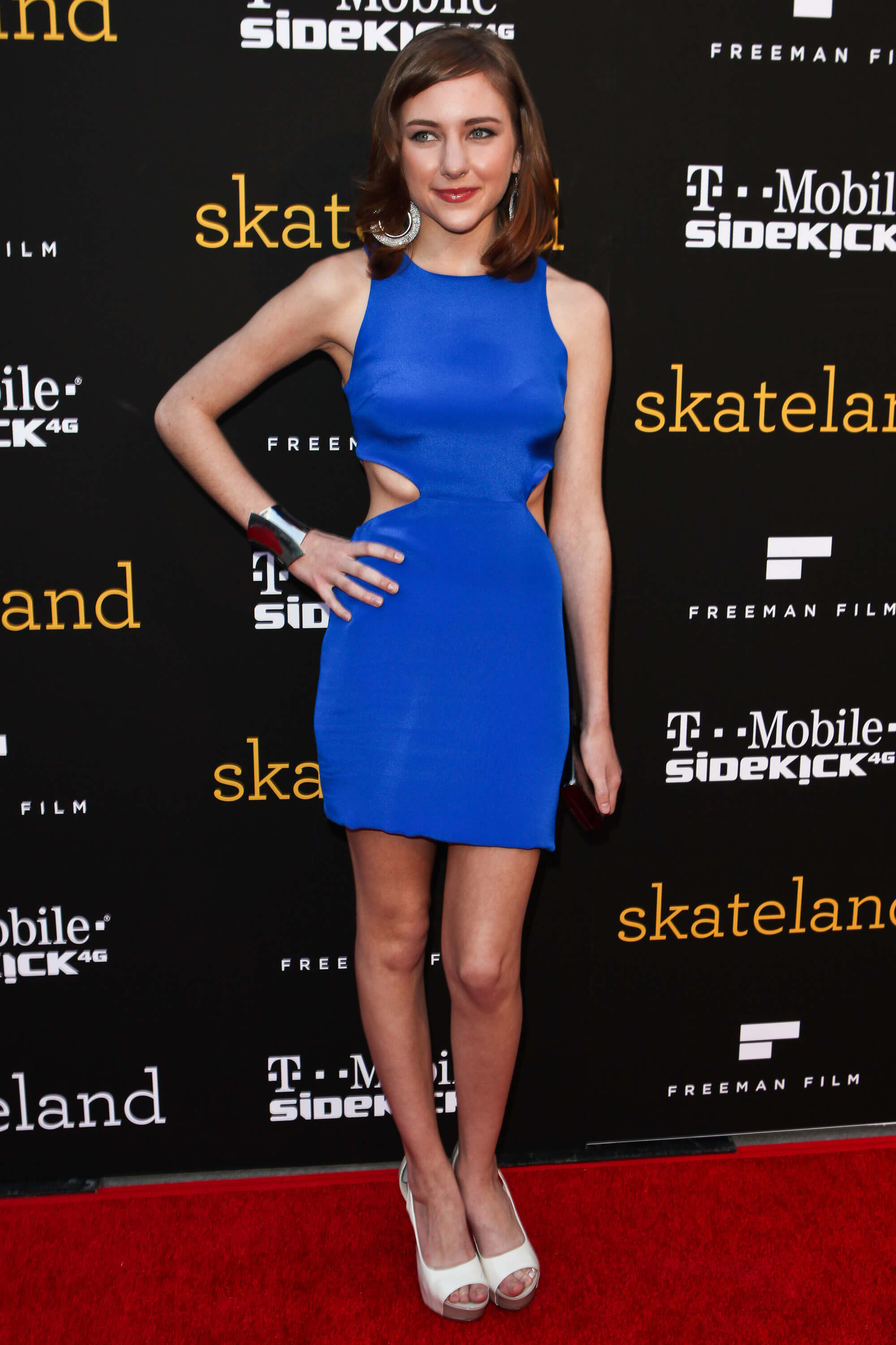 Haley-Ramm-awesome blue dress