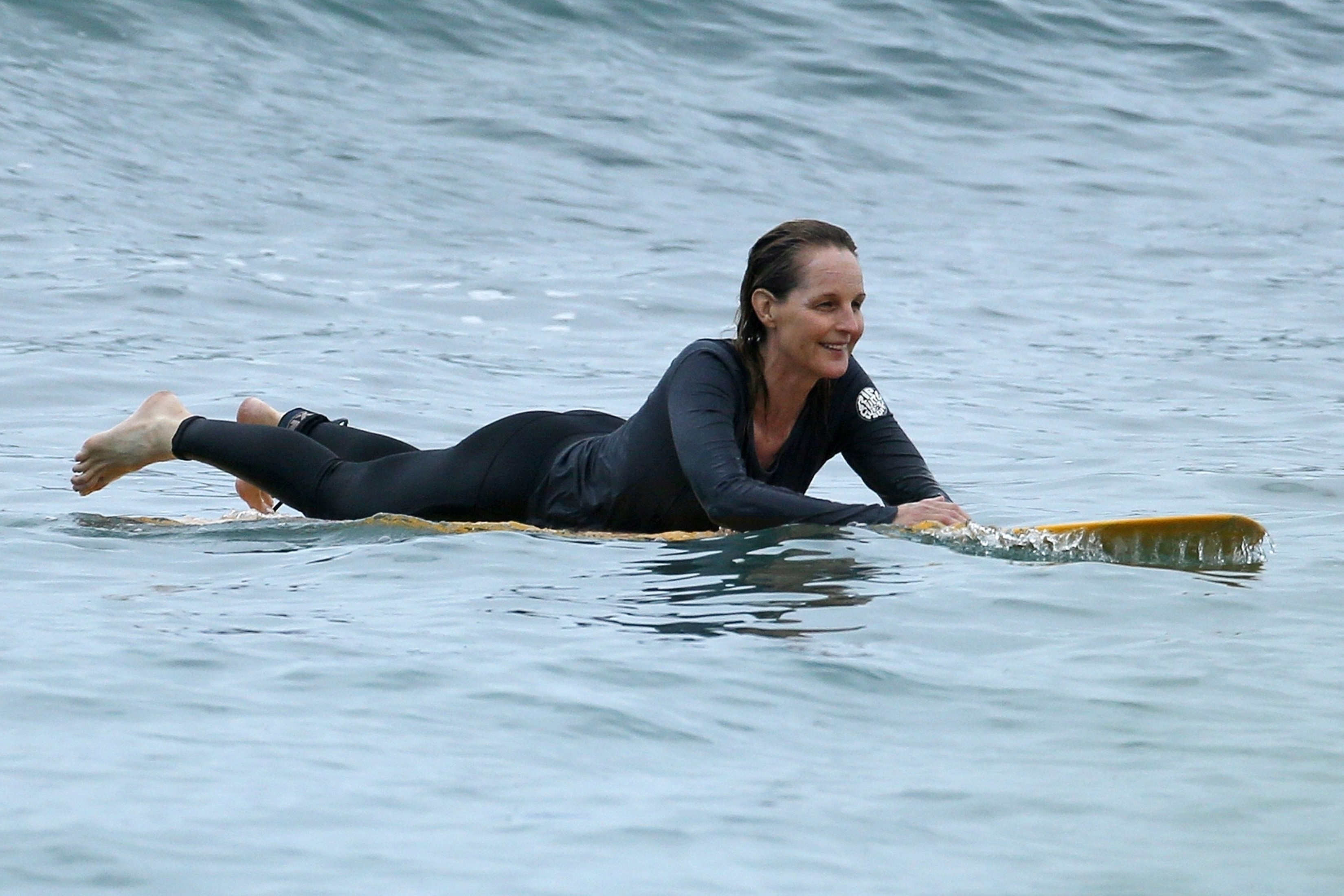 Helen Hunt on Surfing