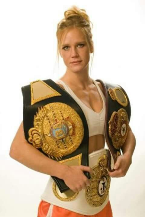 Holly Holm Champion