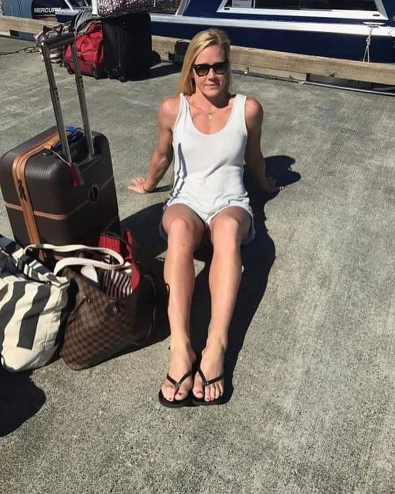 Holly Holm Hot Feet
