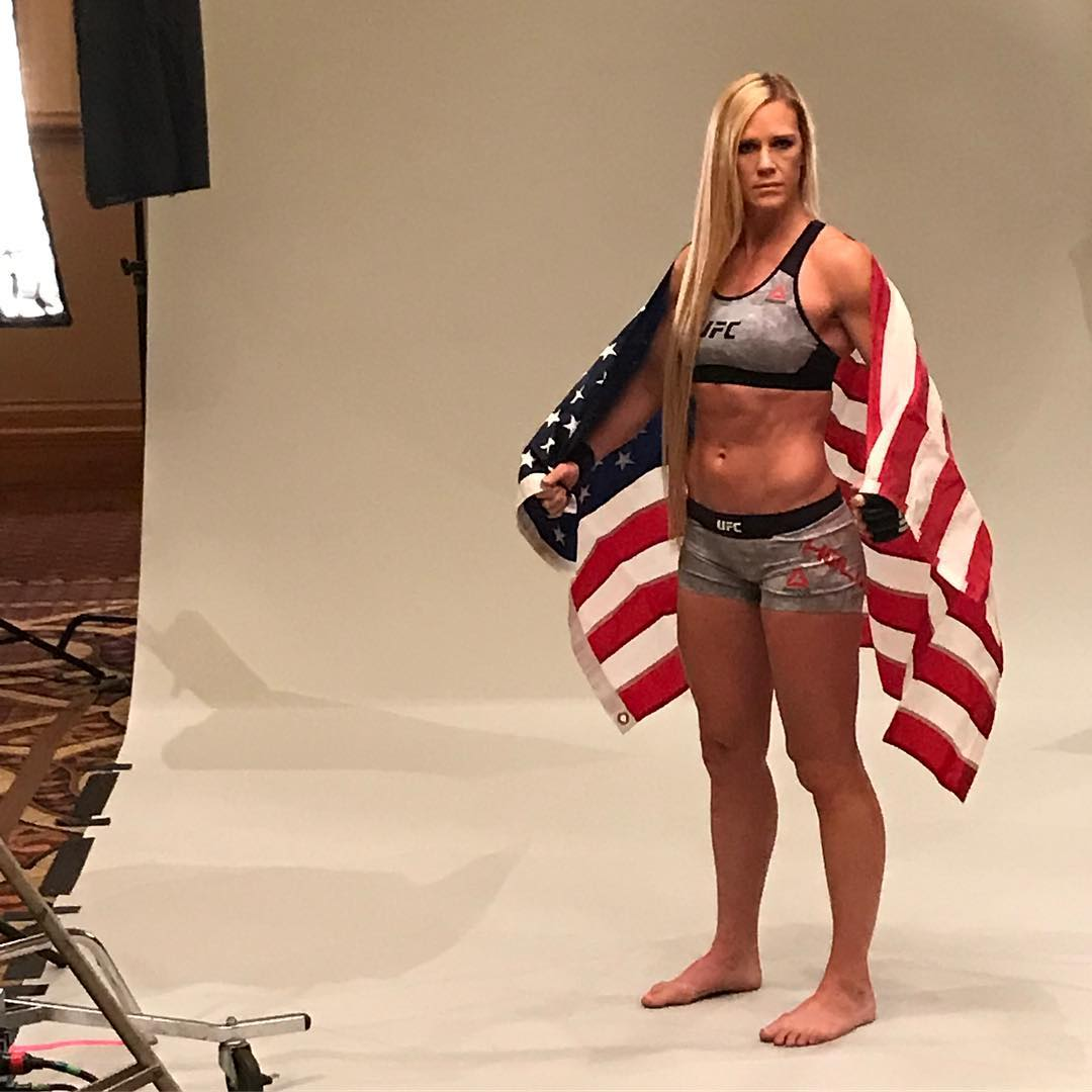 Holly Holm Photoshoot Pics