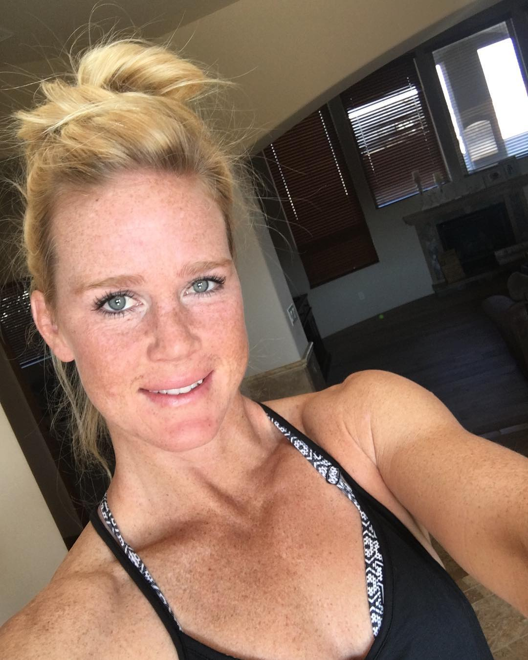 Holly Holm Selfie