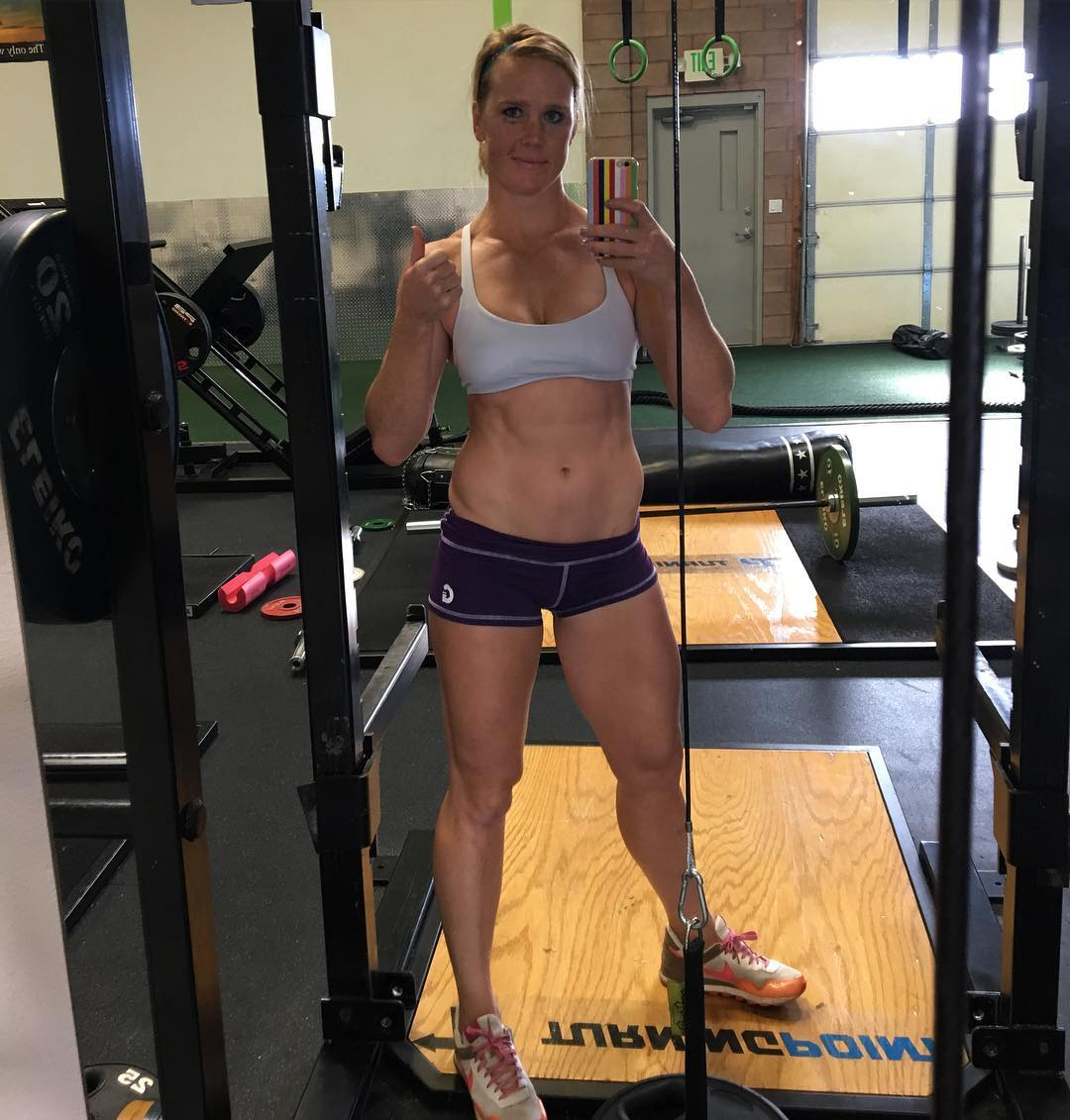 Holly Holm on Gym