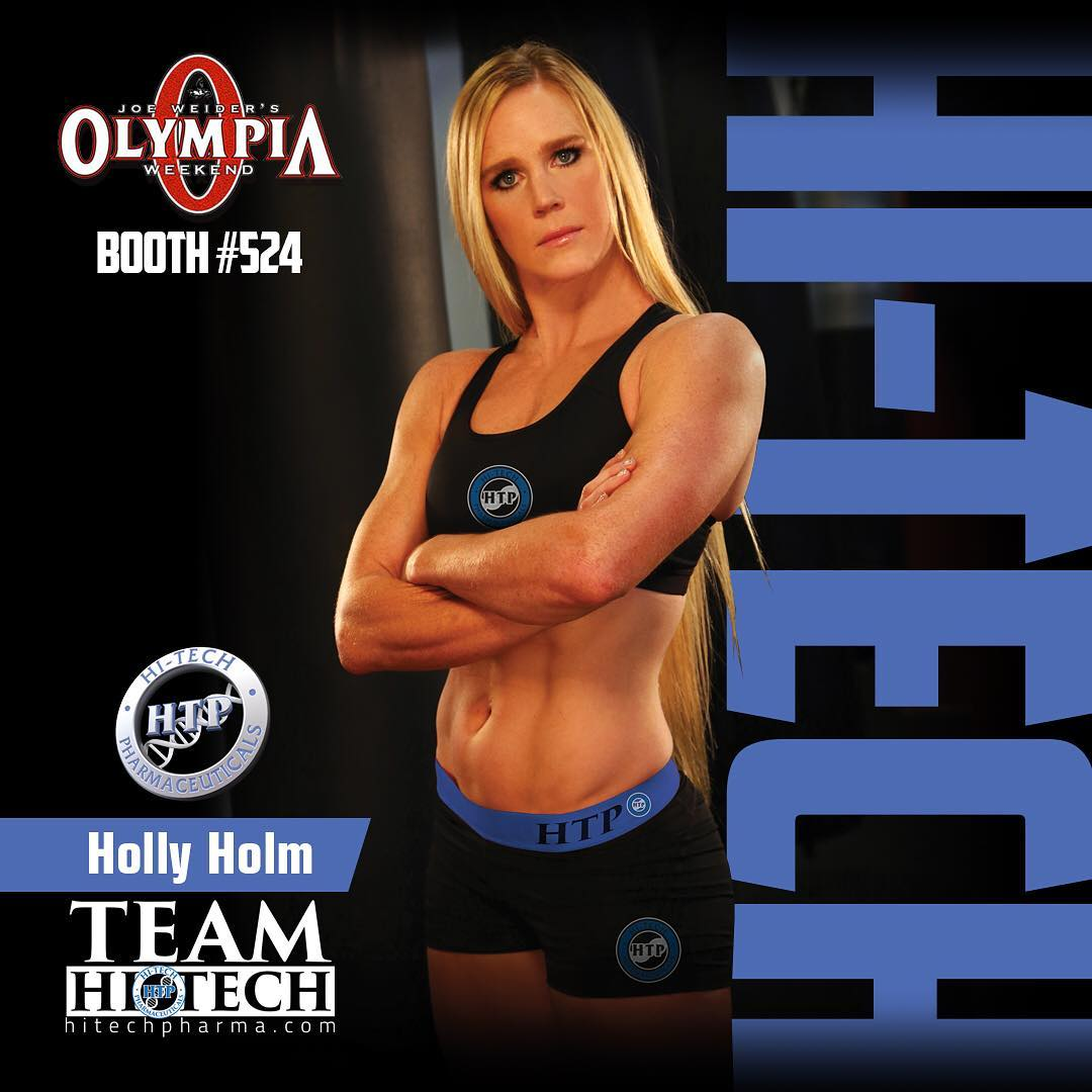 Holly Holm on magzine