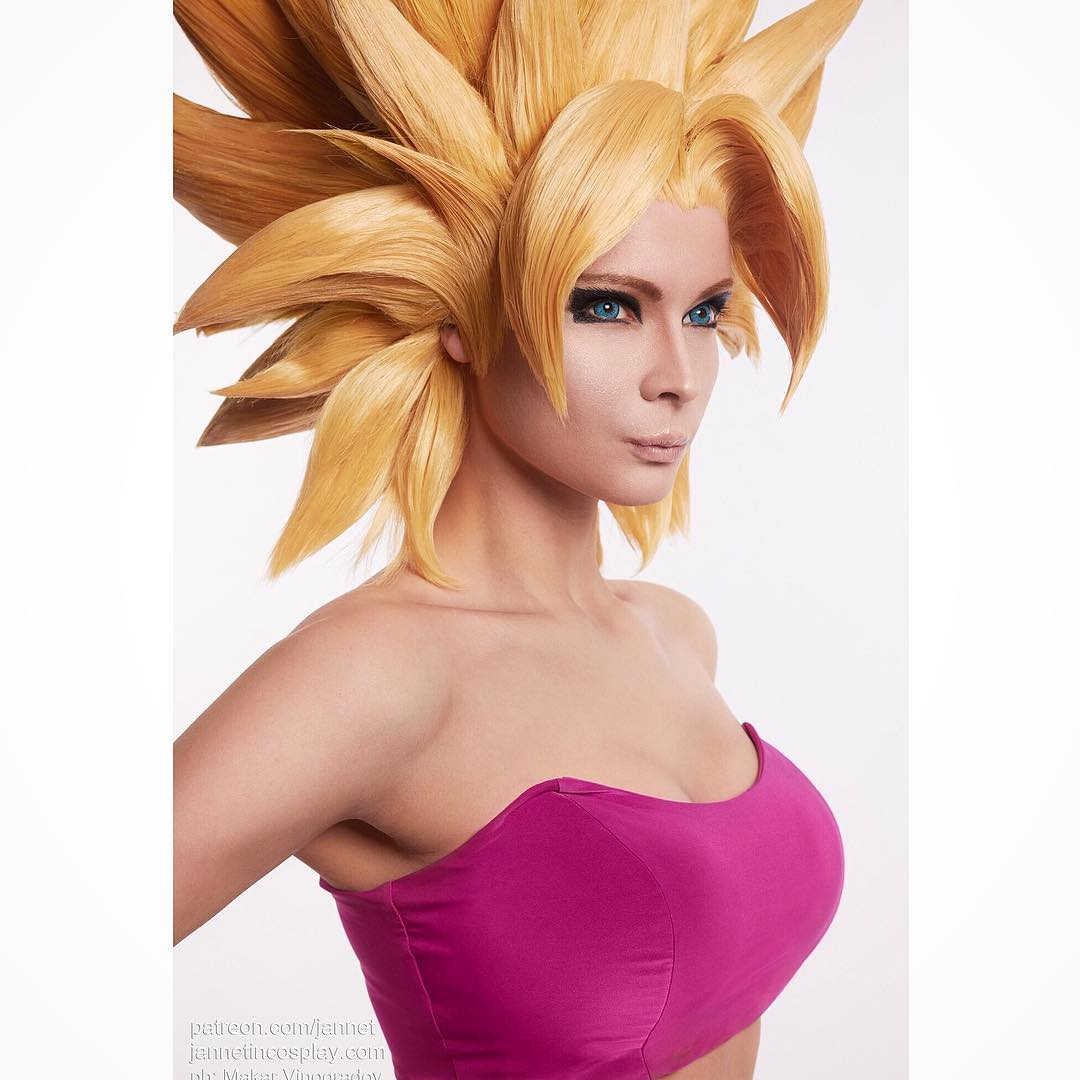 Jannet Incosplay Hot Hairstyle