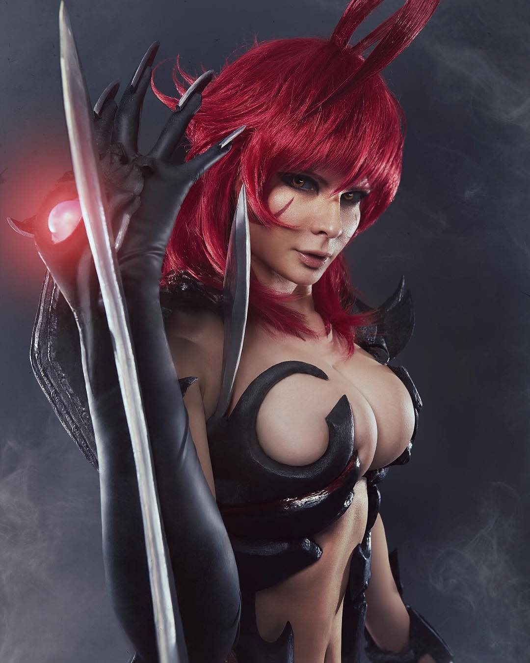 Jannet Incosplay Sexy Big Boobs Pics