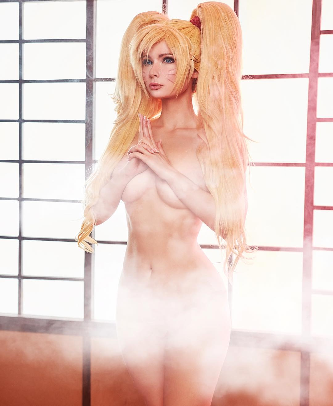 Jannet Incosplay Sexy Boobs Pictures Topless