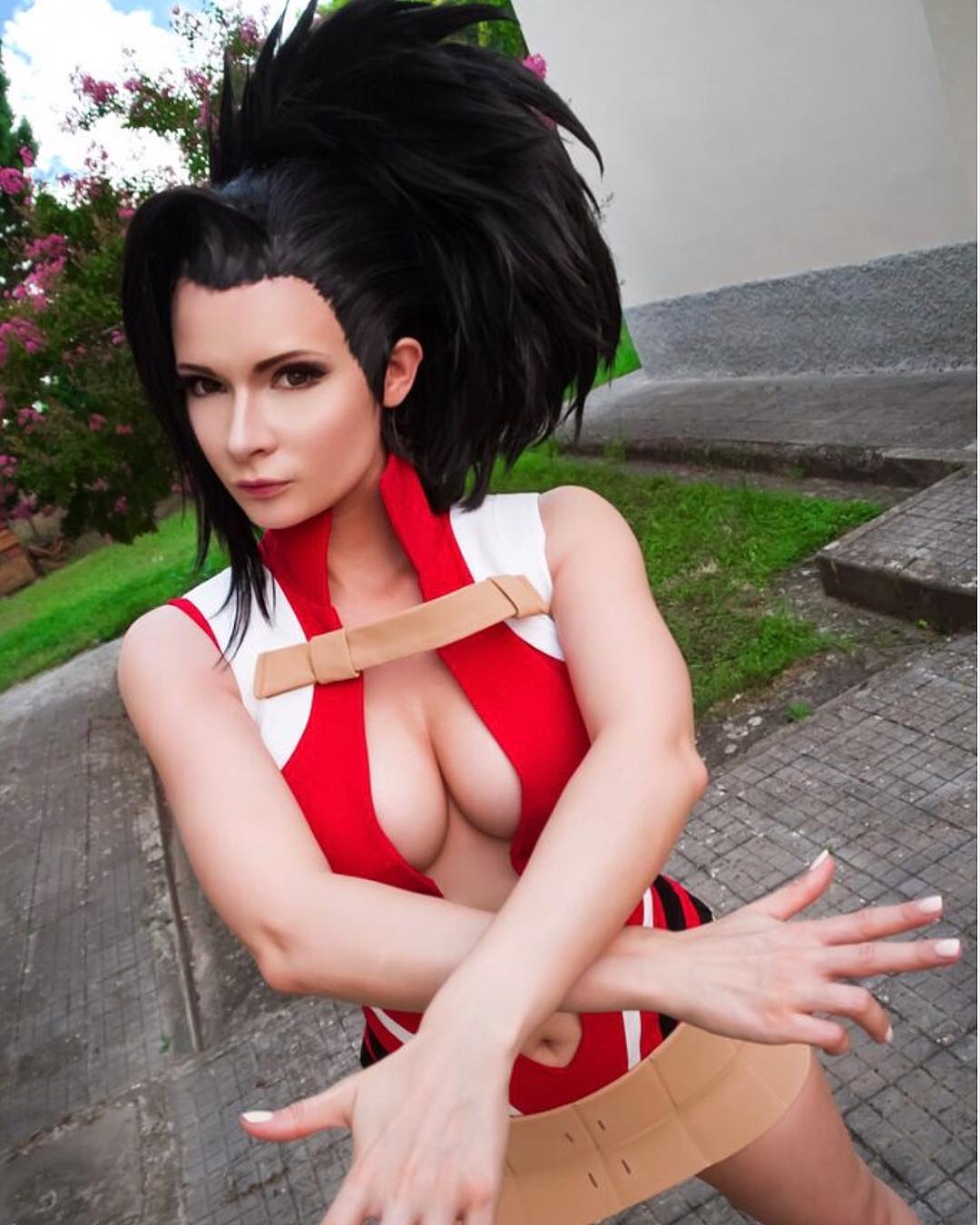 Jannet Incosplay Sexy Boobs Pictures on Action Look