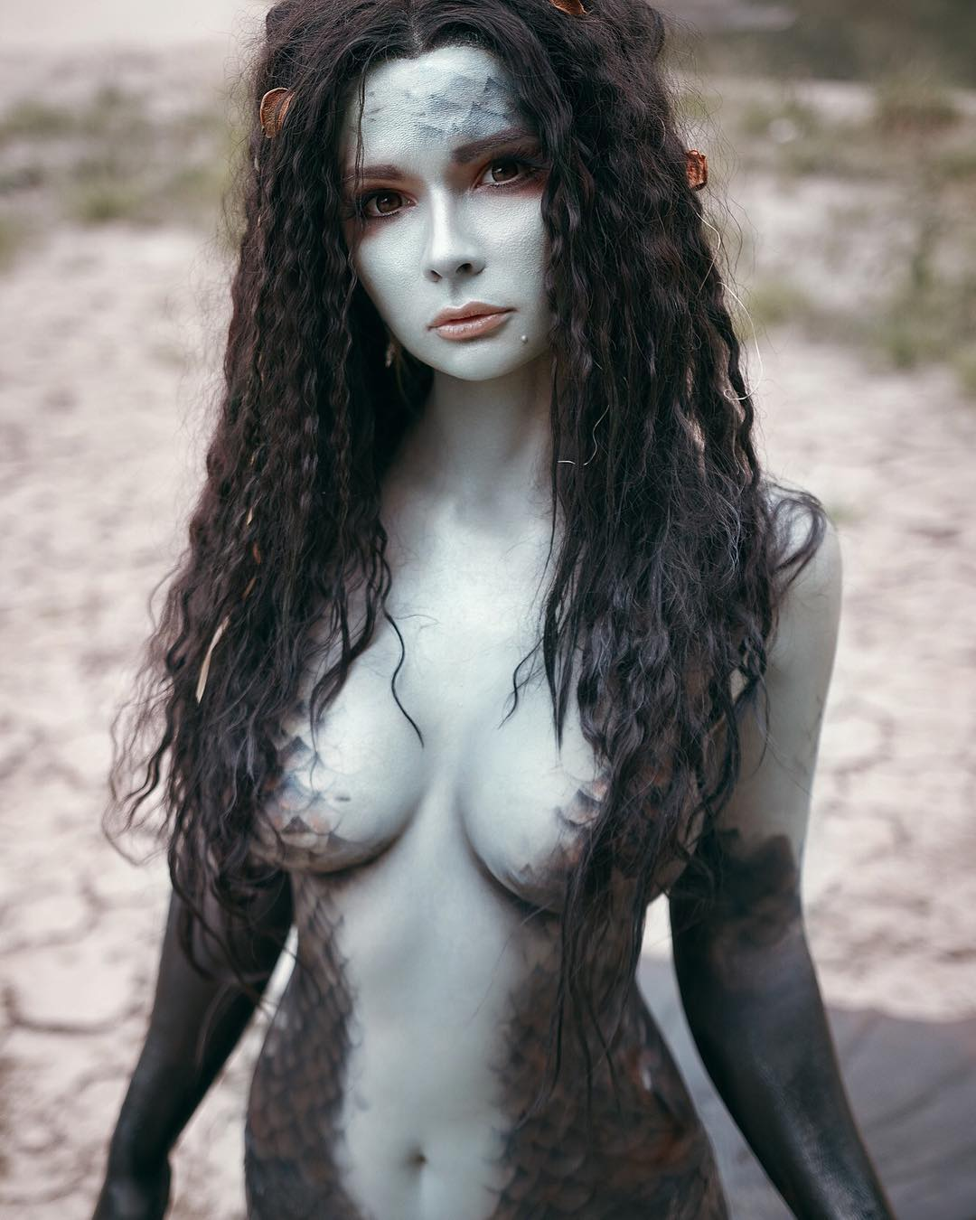 Jannet Incosplay Sexy Boobs Pictures on Topless