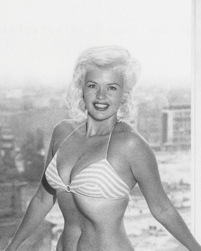 Jayne Mansfield sexy busty pics