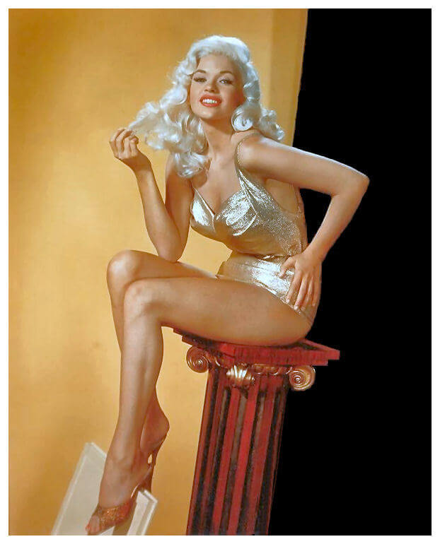 Jayne Mansfield sexy thighs