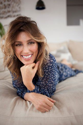 Jennifer Esposito on Bed