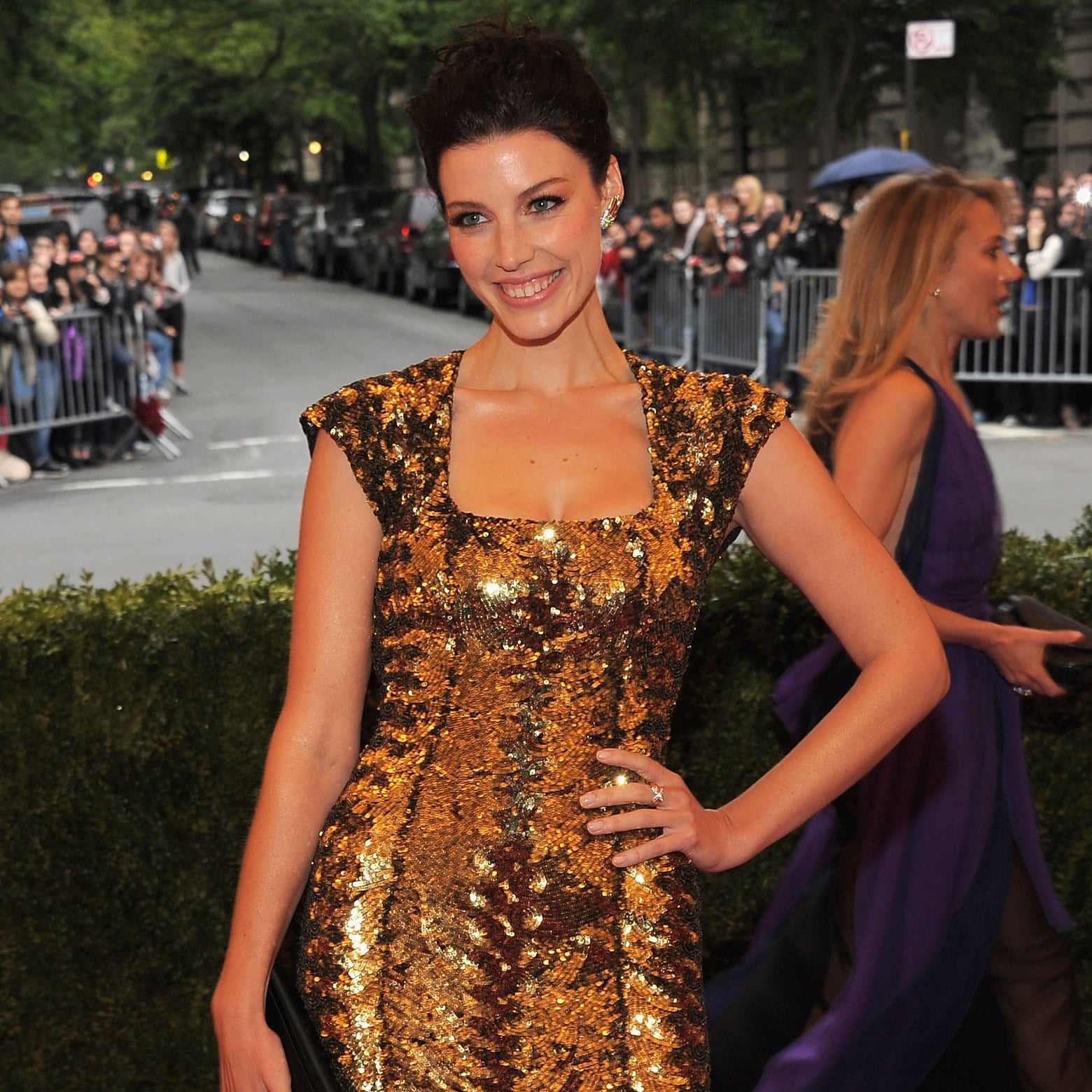 Jessica Pare on Party