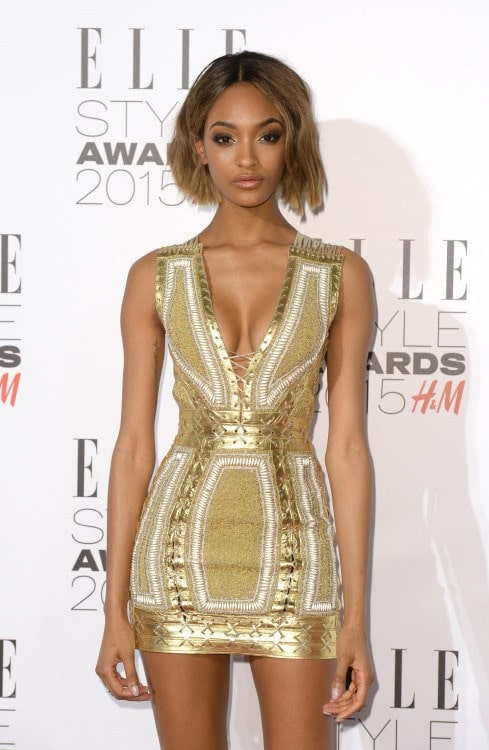 Jourdan Dunn Hot in Short Dress