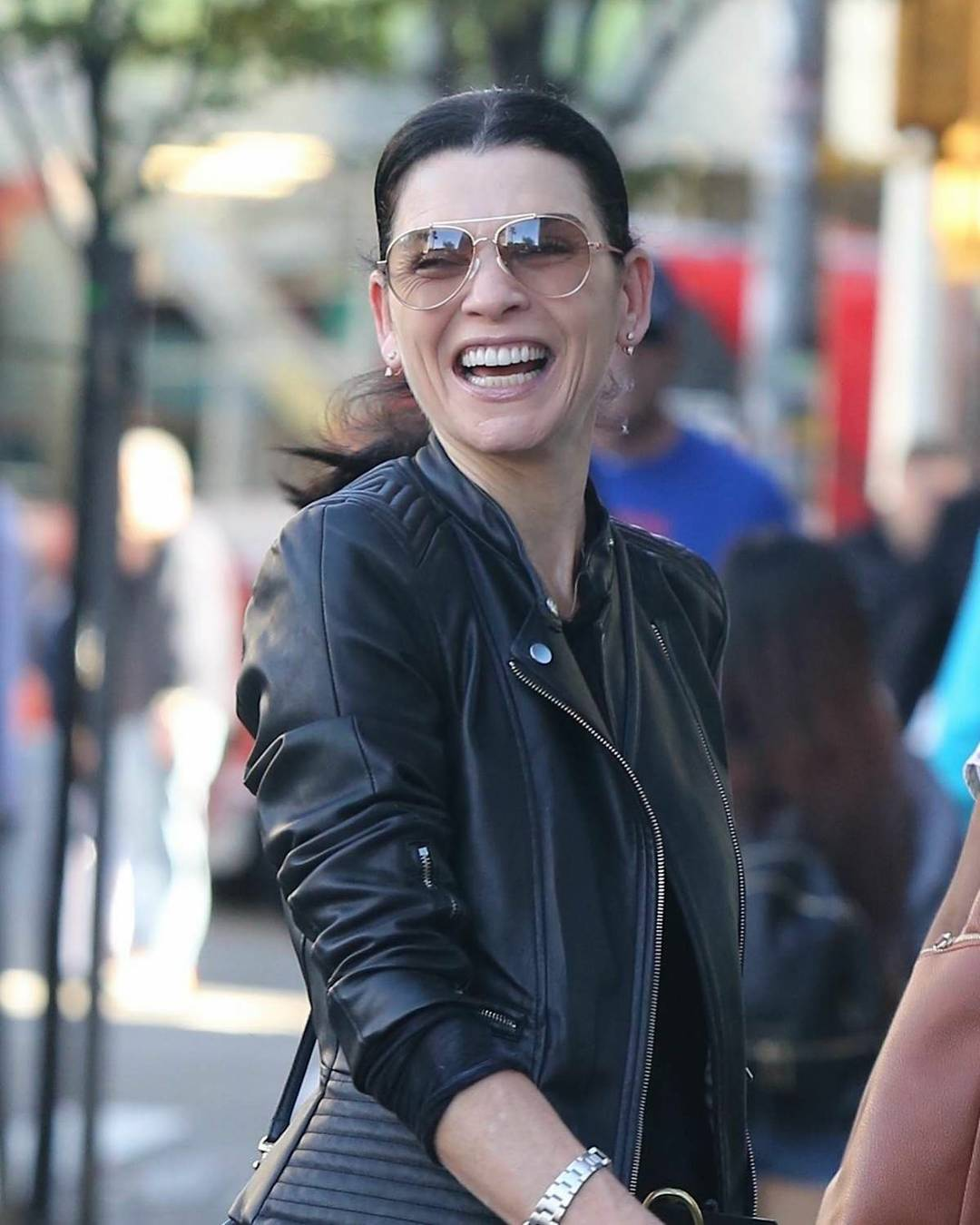 Julianna Margulies Happy