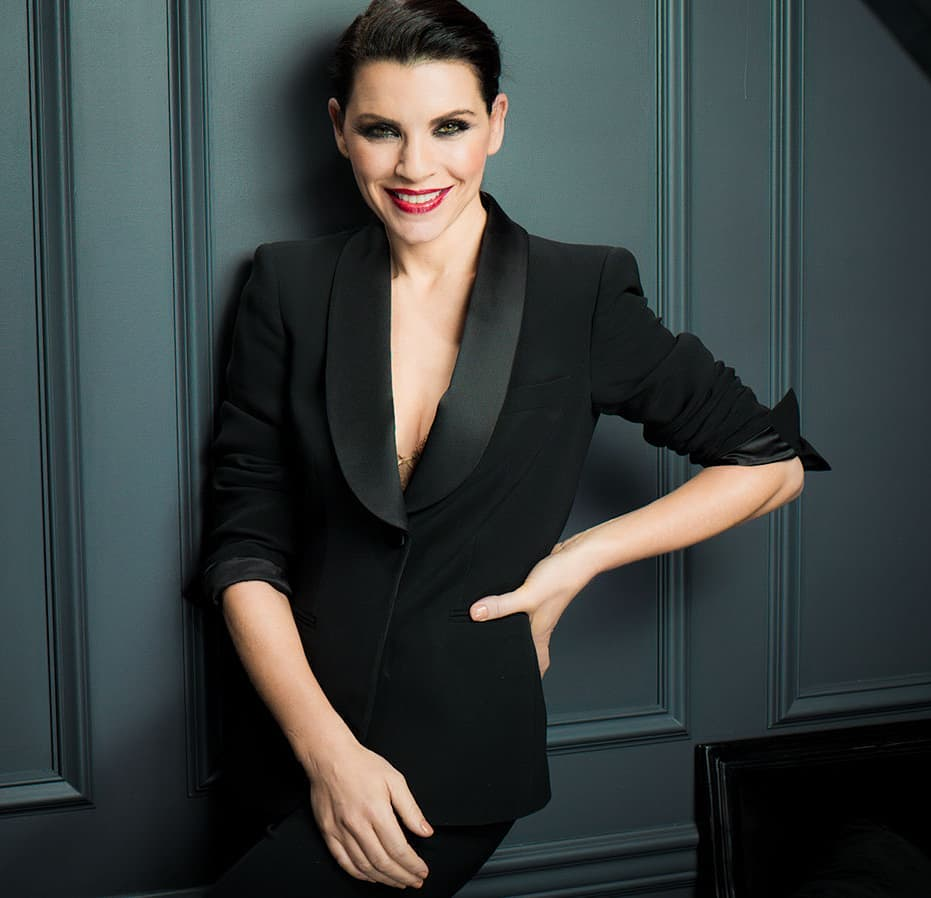 Julianna Margulies Hot in Black