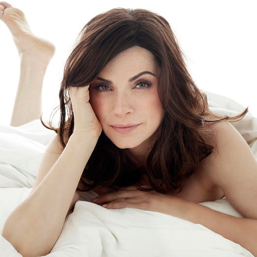 Julianna Margulies on Bed