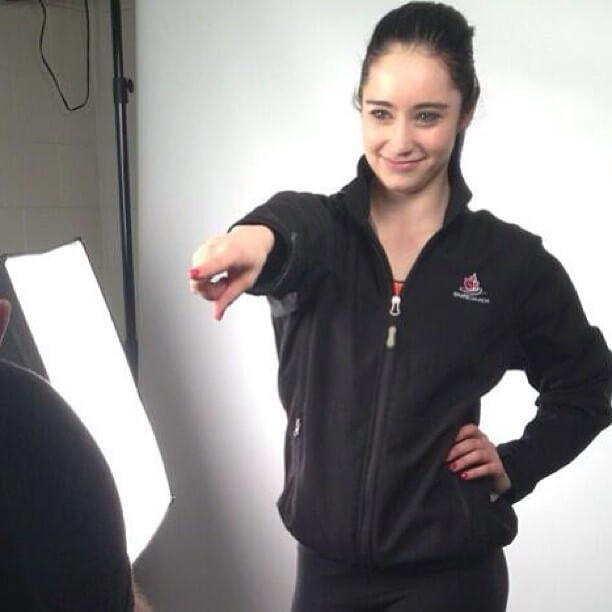 Kaetlyn Osmond hot cleavage picture