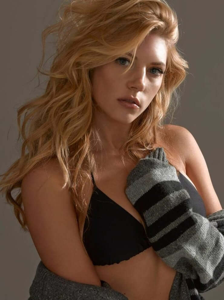 Katheryn Winnick beautiful black bikini