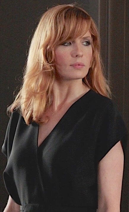 Kelly Reilly hot black