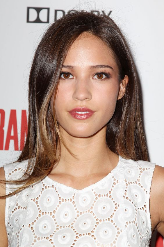 Kelsey Asbille Beautifull in White Dress
