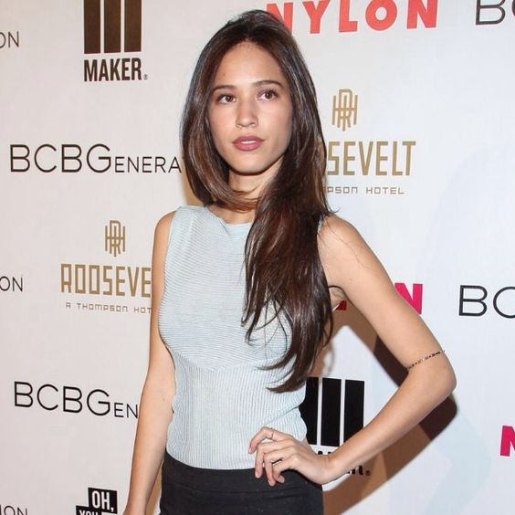 Kelsey Asbille on BCBG Shows