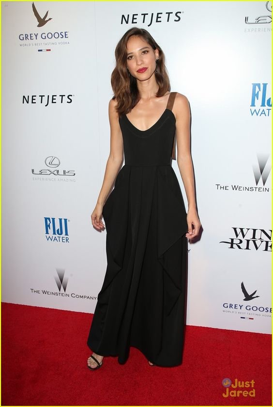 Kelsey Asbille on Red carpet