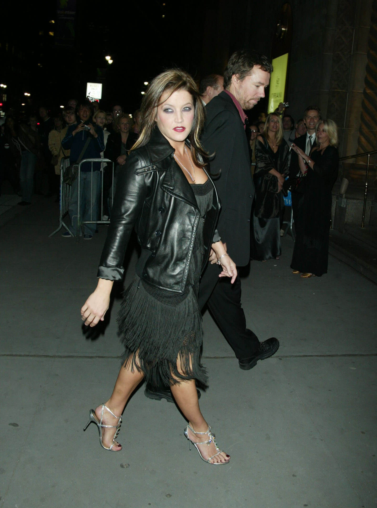 Lisa Marie Presley awesome black dress