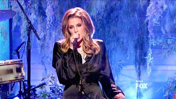 Lisa Marie Presley awesome pic