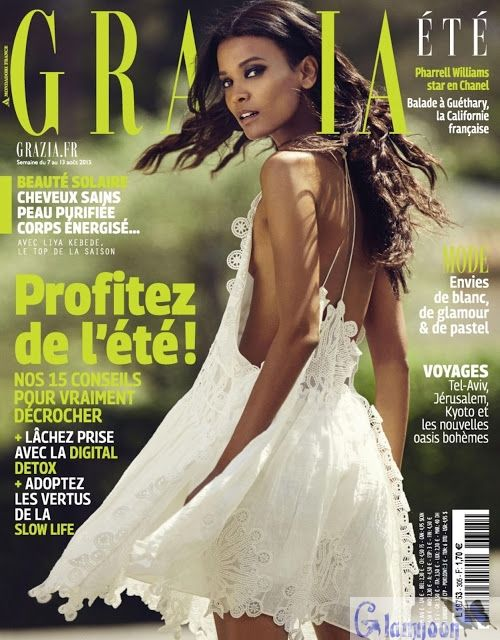 Liya Kebede damm hot photo